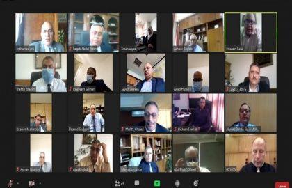 د/ عبد العاطى : يعقد إجتماعاً بالقيادات بالوزارة لمتابعة الموقف المائى والمشروعات