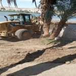 الوزارة تواصل ضرباتها المتلاحقه لجرائم التعدي علي مجري نهر النيل ومنافعه