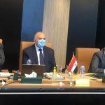إجتماعه الثنائي من أجل إستعراض الموقف المصري إزاء ملء وتشغيل سد النهضة الإثيوبي