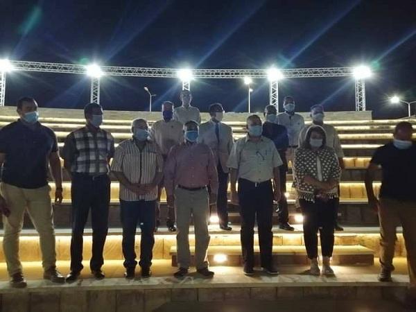 وزير الري في زياره تفقدية لمحافظة أسوان