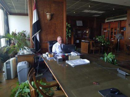 د/ عبد العاطى : التنسيق مع المحافظين للتعامل مع ارتفاع منسوب النيل