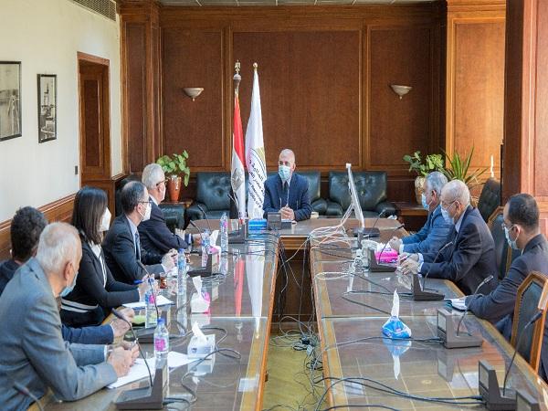 د/عبد العاطى : استمرار التعاون القائم بين مصر وإيطاليا فى مجال الموارد المائية