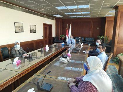 د/عبد العاطى: تعميم منظومة التحول الرقمي في جميع جهات الوزارة