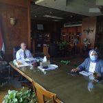 الاستعداد لأسبوع القاهرة للميــــاه 2021 تحت  عنوان الميـــــــاه و السكان والتغيرات العالمية