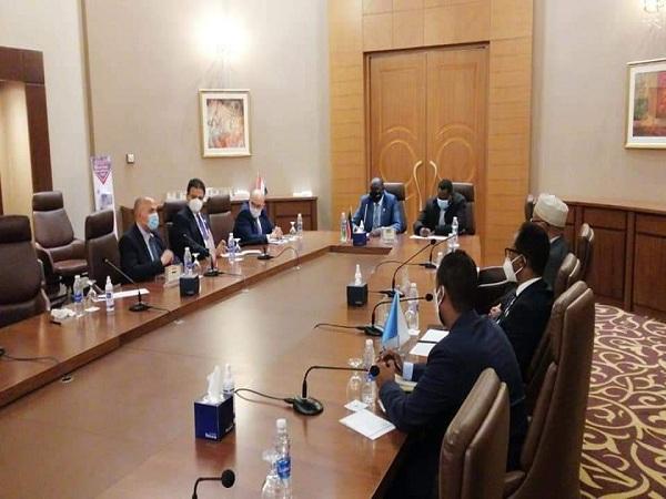 د/ عبد العاطى يصل القاهرة بعد زيارة رسمية ناجحة لدولة العراق