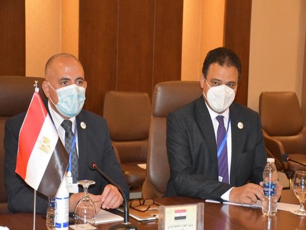 عبد العاطى يشارك في فعاليات مؤتمر بغداد الدولى الأول للمياه
