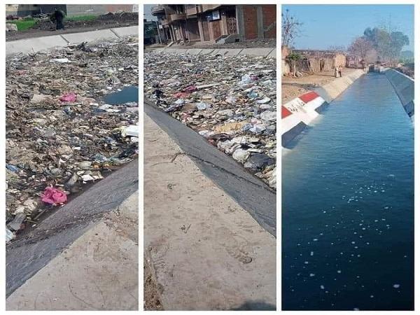 الرى تناشد المواطنين بالحفاظ على كافة المجارى المائية من التلوث