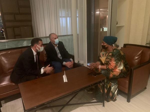 عبد العاطي يصل الى كينشاسا فى زيارة رسمية لدولة الكونغو الديموقراطية الشقيقة