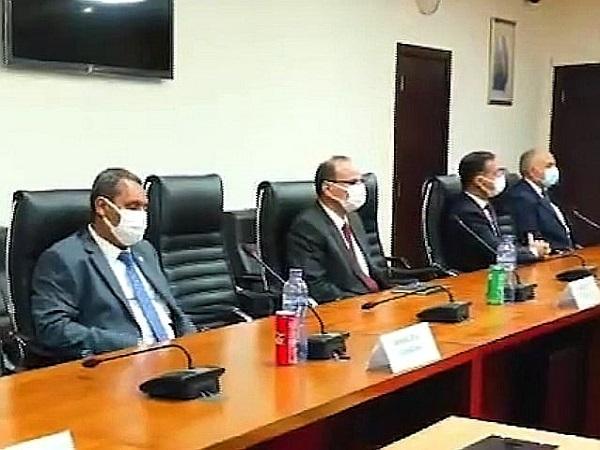 الدكتور عبد العاطى يصل القاهرة بعد زيارة رسمية ناجحة لدولة الكونغو