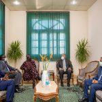 برحله نيلية نائب رئيس جمهورية جنوب السودان و وزير الرى برفقة دكتور عبد العاطي
