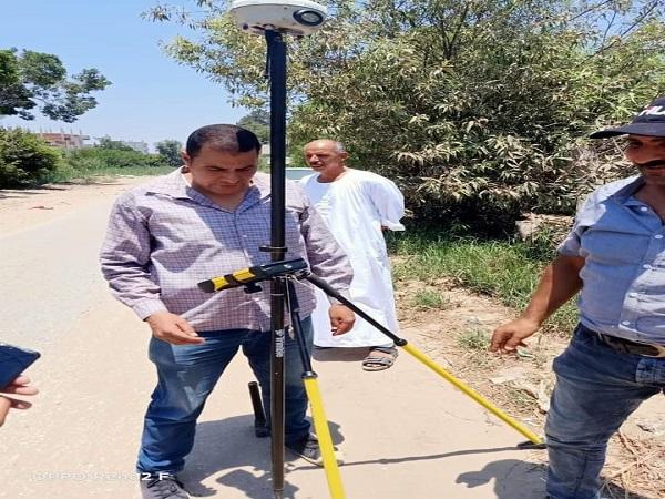 هيئة المساحة المصرية تواصل أعمالها