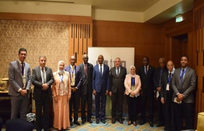 د/عبد العاطى ووزير المياه السنغالى يستعرضان اللمسات الاخيرة لمذكرة التفاهم