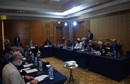 جلسة الهيئة المشتركة لدراسة وتنمية خزان الحجر الرملي النوبي